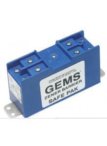Gems Sensors 54806 Dual Channel Zener Barrier 30 VDC Voltage 60 mA Current Gems Sensors /& Controls 275 ohms Resistance