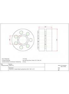 RedLine Tools Finish .3125 Shank Dia Carbide Threading Bar .2900 Min - RTB311245 Depth Bright 2.5000 Uncoated Bore .5000 Max