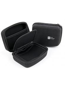 Compatible with The Canon VIXIA Mini X by DURAGADGET Jet Black Hard EVA Carry Case